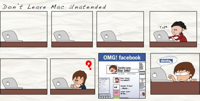 Dont Leave Mac Unatended by LanzCecilio