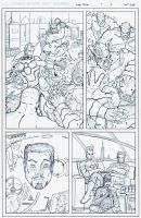 Avengers Assemble page 17 by DerekDwyer