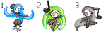 Meloetta Sprites Adopts - CLOSED by ChaoticCinder