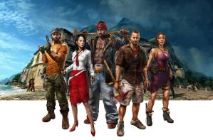 Dead Island Riptide Group by atomhawk