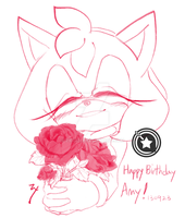 happy b-day amy! by zxrom