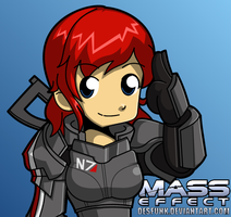 Mass Effect Fem Shep by desfunk