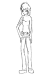 full body example sketch i guesse by speedcow12