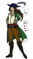 Pirate, Cinders the Captain by Puzzlr