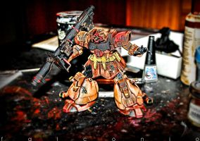 Dom Tropen HGUC hdr-1 by AngeloFalconio