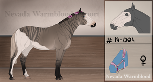 Nevada Warmblood #N004 by NevadaWarmbloodAdmin