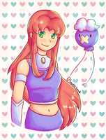 Starfire and Driftloon by Southrobin