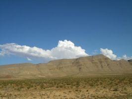 Mountains NV I-15 view 2 by archambers