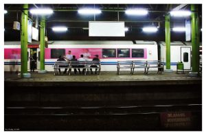 One Night At The Train Station by ditya