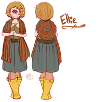 Ellie Reference Sheet by MagicalZombie