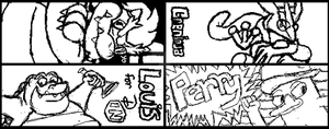 Some Miiverse Doodles by Dobie-Takahama