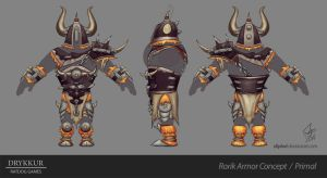 Primal Armor Concept by slipled