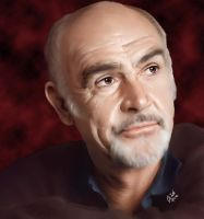 Sean Connery by Landailyn
