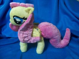 Fluttershy plush update, finished! by PollyRockets
