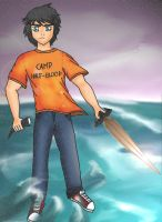 Percy Jackson by maristussi