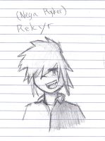 Nega Ryker .:Sketch:. by AngelicDemon82