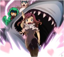 No such thing as Love and Sharks by Lapres