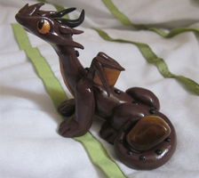 Tigers Eye Dragon by ripple09