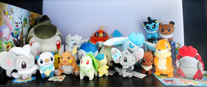 Pokemon Plush Army by DrumblastingQuilava