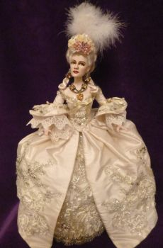 Doll Repaint- Norma Shearer (full-length view) by R-Marie