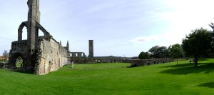 St Andrews Cathedral by rinchan089