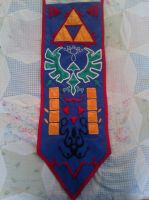 OOT Zelda Finished front banner by LoftwingQueen