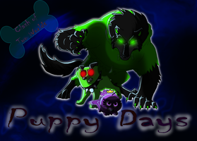 Puppy Days Titlecard by Tesseri-Shira