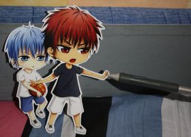 Kuroko No Basket - Paper Child by Kane-Lavi