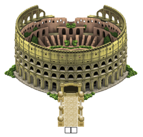 The Colosseum Arena by shugar-tits