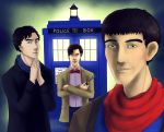 Doctor's New Companions by AlbinoNial