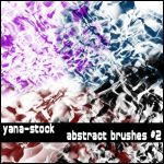 Abstract Brushes 2 by yana-stock