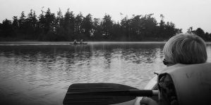 Kayaking in the Mist by pastorgavin