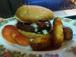 my burger dinner by plainordinary1