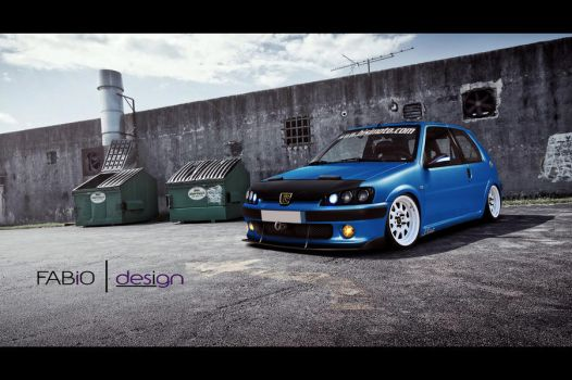 Peugeot 106 - Tuning Virtual by brucis21