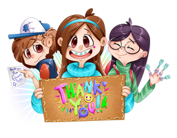 THANK YOU! by Kozakana