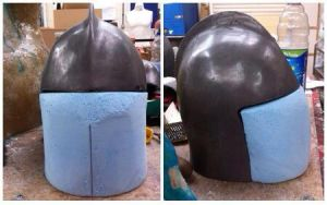 Knights Helmet - Final Major Project - WIP by sfxbecks