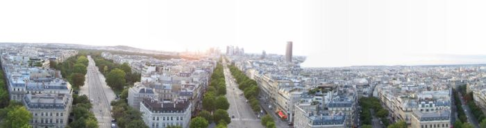 - View of Paris - by red-special