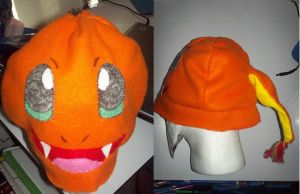 charmander hat by Darkwolf222