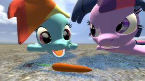 My Little Carrot by RandomMadnessityfier