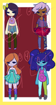 Random adopts -OPEN- SALE!!!! by LunarGrapes-Adopts