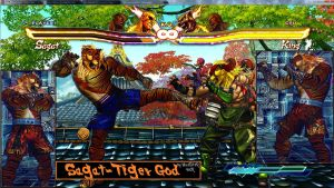Sagat-Tiger God SFxT by MaesterLee