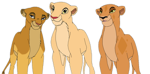 My Lion King OC's by Lyra-Elante