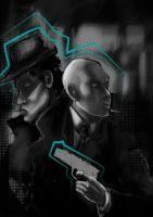 gangsters speed paint by Txanly