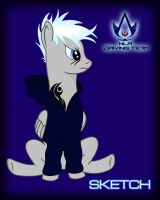 MY OC VECTORED OUT BY MACHSTYLE!!!! by Sketchy1987