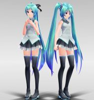 TDA Costume Arrangement A Miku MMD download by Reon046