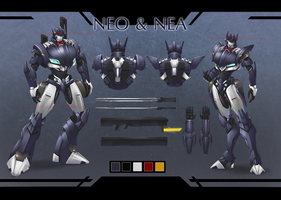 Neo and Nea - reference sheet by crimson-nemesis