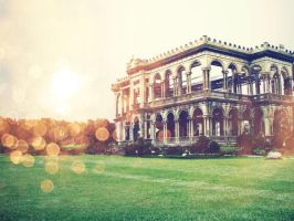 The mansion itself.. by JAYisCHINESE