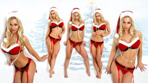 Jenny Poussin - Bring Me what I want for Christmas by LongWalk9x7