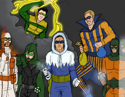 The Rogues Line-Up by synthia-alexander