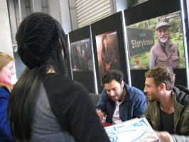 Meeting Dean O'Gorman 3 by pearlandfrog13
